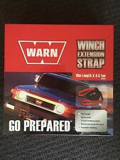 WARN 4X4 4WD Winch Extension Strap (10m length x 4.5ton)