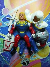 1980's EARTH FORCE FIGURE COMPLETE COMMANDER LAZAR PACE TOYS REMCO HE-MAN