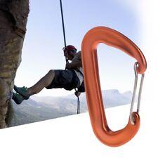Aviation Aluminum 12KN Hammock Safety Balance Carabiner Clasp Camping Outdoor