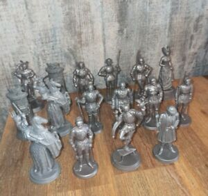 Lot De 16 Figurines Mokarex Jeu D'échecs