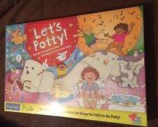 Sealed Let's Potty The Potty Training Board Game 2012 From Aim High Games