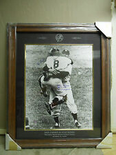 Don Larsen & Yogi Berra Framed Autographed Limited Edition Perfect Game Photo