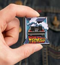 Official Limited Edition Back To The Future Delorean Enamel Pin