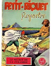 PETIT RIQUET 187 LE SECRET DE LA PYRAMIDE 1955 DESSINS NIEZAB