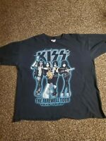 Vintage KISS Farewell Tour Shirt