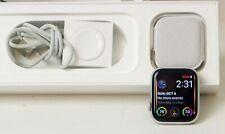 APPLE WATCH SERIES  4 44mm GPS + CELLULAR 4G LTE - Silver APPLECARE+