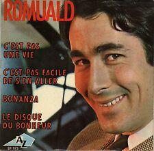 ROMUALD C'EST PAS UNE VIE FRENCH ORIG EP MICHEL COLOMBIER