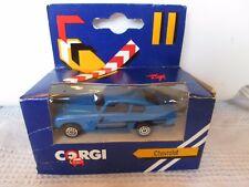 Vintage Corgi Aston Martin in Chevrolet box