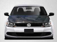 11-15 Volkswagen Jetta Carbon Fiber RV-S Hood 1pc Body Kit 108914