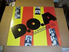 LP:  D.O.A. - Hardcore 81   SEALED NEW PUNK DOA