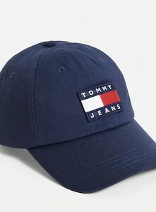 Tommy Hilfiger Tommy Jeans Heritage Cap Navy BNWT 100% Cotton
