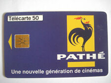 PHONECARD TELECARTE CINEMA PATHE COQ