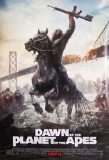 Dawn of the Planet Apes Final Double Sided Original Movie Poster 27x40 inches