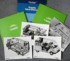 Fiat 242 Kavir 238 Andal 242 Doima 900T Shango Large Press Pack Photograph x 4