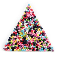 100pcs Multicolor 2 hole Round Shank Resin buttons Sewing Scrapbooking 5mm