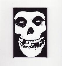 MISFITS LOGO FRIDGE MAGNET (poster patch sticker crimson ghost danzig shirt lp)