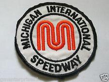 Michigan International Speedway Patch , ( #62) Vintage *