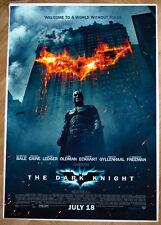 Poster MANIFESTO ORIGINALE - BATMAN THE DARK KNIGHT - Il cavaliere oscuro GRANDE