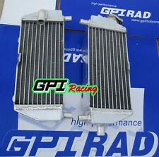 L&R aluminum alloy radiator 2-stroke Kawasaki KX125/KX250 1999-2002 99 00 01 02