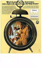 PUBLICITE  1971   DE WITTE LIETAR    tissus éponge sortie de bain peignoir