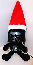 "Rare 8"" Novelty Star Wars Darth Vader Plush with Santa Hat Lucasfilm ltd EUC"