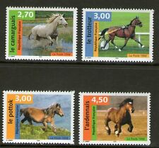 SERIE TIMBRES 3182-3185 NEUF XX LUXE  - CHEVAUX