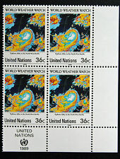NATIONS-UNIS (new-york) timbre / stamp Yvert et Tellier n°544 x4 n** (Cyn13)