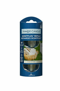 6 x Yankee Candle Scent Plug Twin Pack Fragrance Refills-Clean Cotton