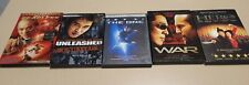 Jet Li Dvds, Lot of 5, Unleashed, War, Hero, Fearless, The One, Free Shipping