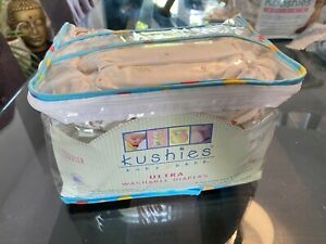 BNWT 5pk Kushies Re-usable Nappies TODDLER 22-45lb *Please Read Description