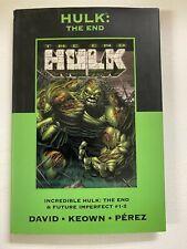 Incredible Hulk The End #8 Marvel 6.0 FN Hardcover (2008) David, Keown, Perez