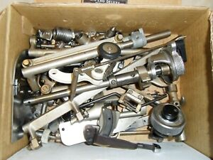 Box of Novum Sewing Machine Spare Parts