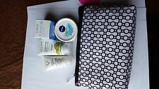 Makeup bag with four travel size items new Item Pwn 264