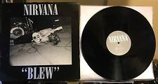 Nirvana 'Blew' Original 1989 EP Sub Pop/Tupelo Vinyl LP Rare UK-Only Import VG+