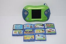 Leapfrog Leapster 2 Learning System Bundle Green & Blue w/ 10 Games