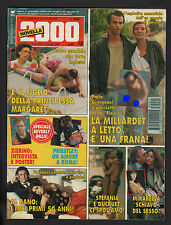 NOVELLA 2000 21/1993 MILLARDET MICHAEL JACKSON SHARON STONE RUBEN SOSA ZIERING