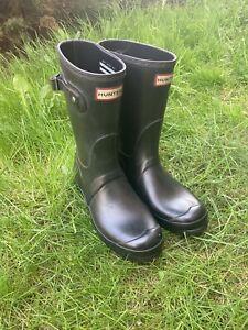 HUNTER Woman's Wellies Wellington Boots Size UK 6 EU 39