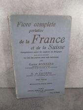 Gaston Bonnier flore complète portative France Suisse