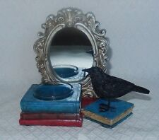YANKEE CANDLE MIRROR MIRROR RAVEN TEA LIGHT HOLDER HALLOWEEN  SOLD OUT