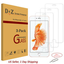 "3Pack Premium Temper Glass Screen Protector Film for Apple 4.7"" iPhone 6s/6/7/8"
