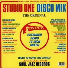 CD SUDIO ONE  Disco Mix    Compil Soul Jazz Records    NEUF Emballé