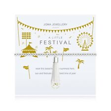 Joma Jewellery A Little FESTIVAL - Silver Bracelet with gift bag and tag
