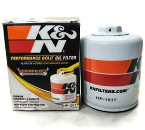 K&N HP-1017 Performance Gold Oil Filter Fits 2017-2018 Ram/Jeep/GMC