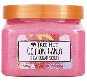Tree Hut  Shea Sugar Cotton Candy Scrub Hydrating & Exfoliating 18 oz.