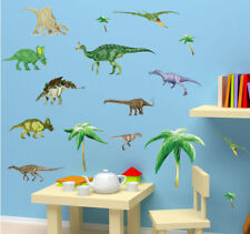 Dinosaur Wall Stickers For Kids Nursery Decor Removable Vinyl Decal Art Mural
