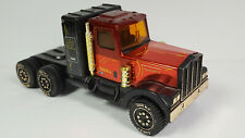 Vintage Tonka Kenworth Pressed Steel Tractor NO Trailer Rare Truck Red Black