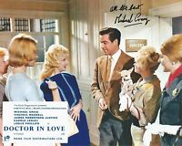 Hand Signed 8x10 photo MICHAEL CRAIG in Doctor In Love + my COA