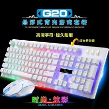 Led Gaming Keyboard & Mouse