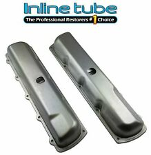 1967-72 Oldsmobile Cutlass 442 W-30 W-31 Factory Correct Notched Valve Covers GM