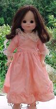 "Vintage 1965 Madame Alexander Doll Brown Hair W/ Lucinda  Dress  12 1/2"" Tall"